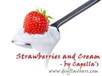 Strawberries and Cream Flavor Concentrate by Capella's