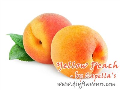 Yellow Peach Flavor Concentrate by Capella's
