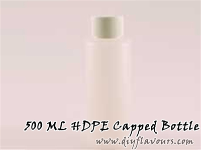 500 ML HDPE Capped Bottle