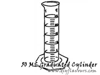 50 ML Graduated Cylinder