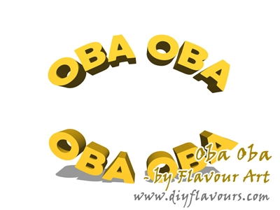 Oba Oba Flavor Concentrate by Flavour Art