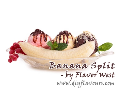 Banana Split Flavor Concentrate by Flavor West