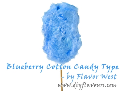 Blueberry Cotton Candy Flavor Concentrate by Flavor West