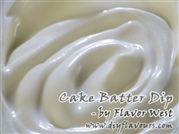 Cake Batter Dip Flavor Concentrate by Flavor West