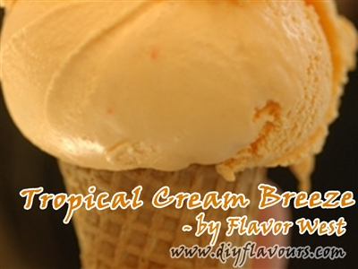 Tropical Cream Breeze Flavor Concentrate by Flavor West