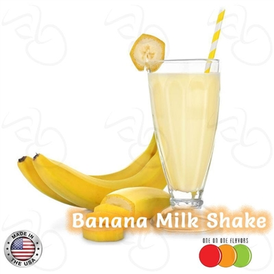 Banana Milk Shake Flavor by One On One Flavors