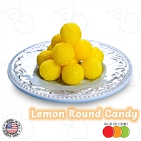 Lemon Round Candy by One On One Flavors