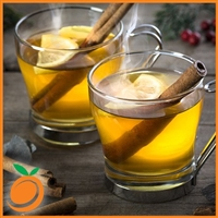 Warm Apple Cider by Real Flavors