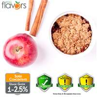 Apple Crumble Extract by Real Flavors