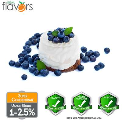 Blueberries Cream Extract by Real Flavors