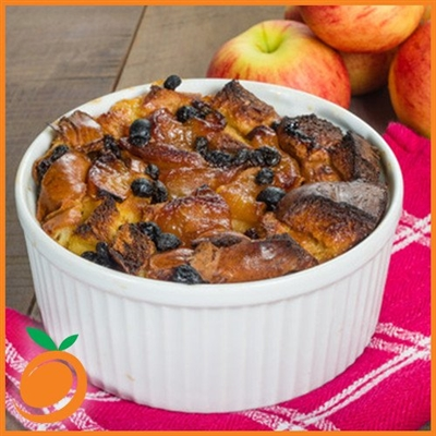Bread Pudding by Real Flavors