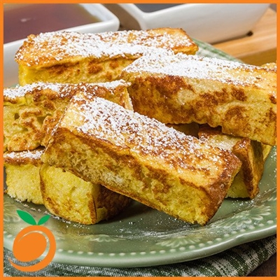 French Toast with Eggnog by Real Flavors