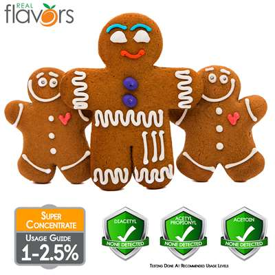 Gingerbread Cookie Extract by Real Flavors