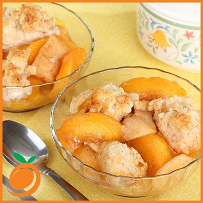 Peach Cobbler by Real Flavors