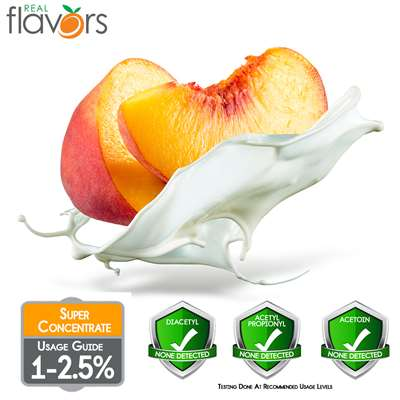 Peaches & Cream Extract by Real Flavors