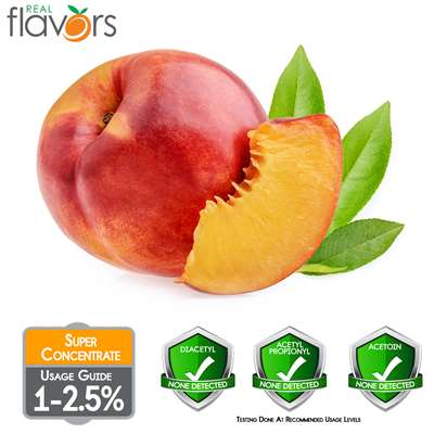 Peach Extract by Real Flavors