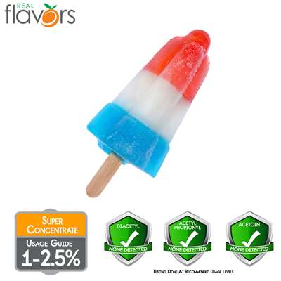 Red White Blue Popsicle Extract by Real Flavors
