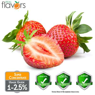 Strawberry Extract by Real Flavors