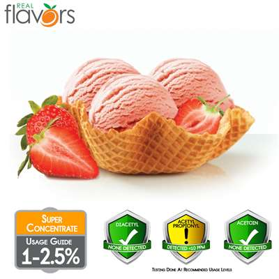 Strawberry Gelato Extract by Real Flavors