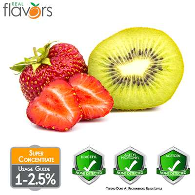 Strawberry Kiwi Extract by Real Flavors
