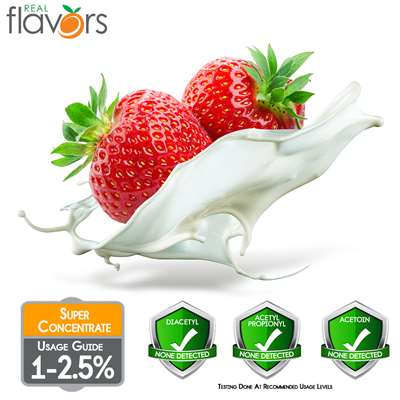 Strawberries and Cream Extract by Real Flavors