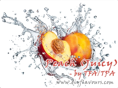 Peach (Juicy) Flavor by TFA or TPA