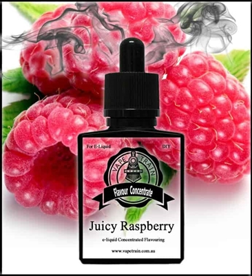 Juicy Raspberry by Vape Train