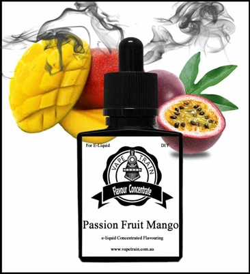 Passionfruit and Mango by Vape Train