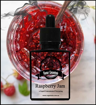 Raspberry Jam by Vape Train