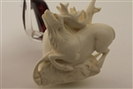 Special Hand Carved Deer from R. Karaca Meerschaum Pipe