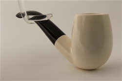 Special Hand Carved Meerschaum Pipes - Smooth Billiard