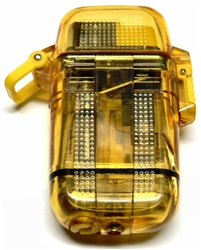 Transparent Butane Lighter - Yellow