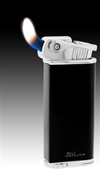 Black Jetline Lighter Bolla Soft Flame Pipe Lighter