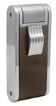 JetLine Paramount Double Torch Cigar Lighter Chrome/Brown