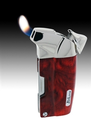 Wood Lacardo Soft Traditional Flame Pipe and Cigar Lighter