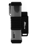 JetLine New York Quad Flame Torch Cigar Lighter Gun Metal