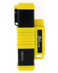 JetLine New York Quad Flame Torch Cigar Lighter Yellow