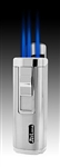 JetLine Houston Butane Lighter - Silver