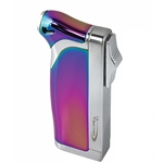 Vector KGM Dupla Butane Dual Pipe & Jet Torch Lighter - Prizm