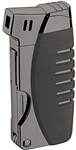 Vector KGM Gladius Butane Pipe Lighter w/Pipe Tools - Gunmetal Satin