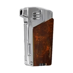 Vector KGM Gladius Butane Pipe Lighter w/Pipe Tools - Mahogany Marble
