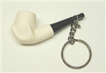 Hand Key Chain Meerschaum Pipe