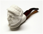 Mini Hand Carved Holmes Meerschaum Pipes