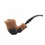 Erik Nording Signature Black Grain Smooth Briar Pipe