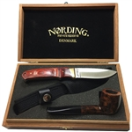 Nording Private Reserve Pipe & Knife Set