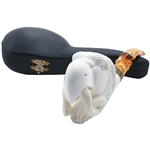 Signed M. Yilmaz Eagle Block Meerschaum Pipe