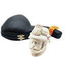 French General Block Meerschaum Pipe