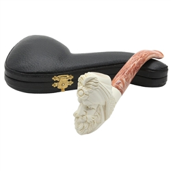 Sultan Block Meerschaum Pipe