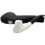 Long Shank Claw Block Meerschaum Pipe
