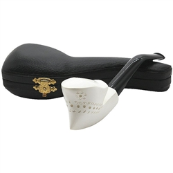 Freeform Featherweight Block Meerschaum Pipe